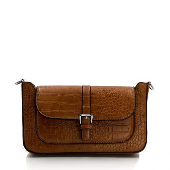 Τσάντα χιαστί– Κάμελ JW-706102