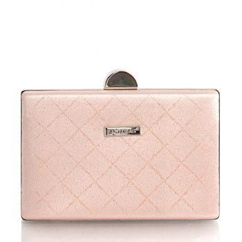 Τσάντα φάκελος clutch – Ροζ JH129205
