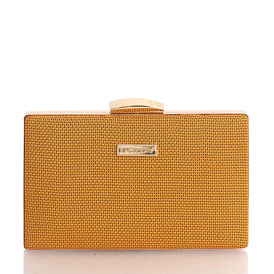 Τσάντα φάκελος clutch – Κάμελ JH099902