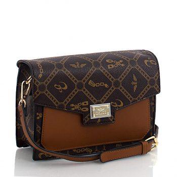 Τσάντα χιαστί – Καφέ ES-899209