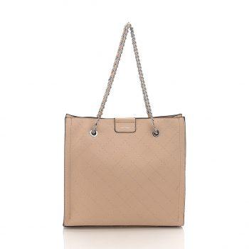 Τσάντα Ώμου - Μπεζ LS59008