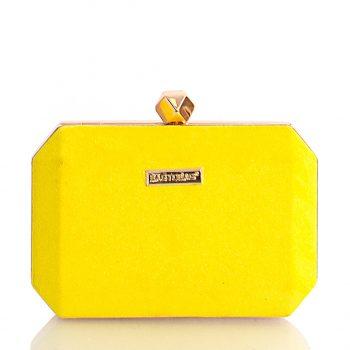 Τσάντα φάκελος clutch BagtoBag– Κίτρινο JH897504