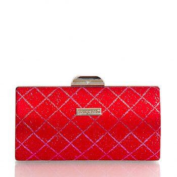 Τσάντα φάκελος clutch BagtoBag– Κόκκινο JH500803