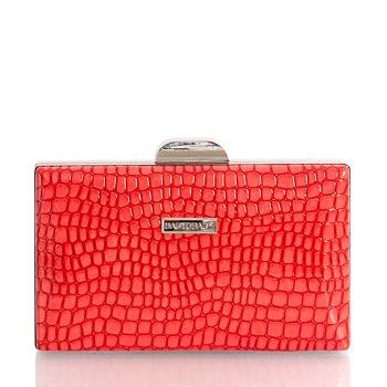 Τσάντα clutch croco BagtoBag– Κόκκκινο JH988603