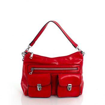 Τσάντα ώμου χιαστί – Κόκκινο LS57803