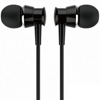 Jellico X4 In-ear Handsfree με Βύσμα 3.5mm Μαύρο
