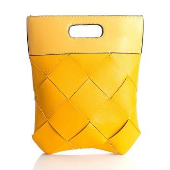 Τσάντα χιαστί χειρός– Κίτρινο KX209804