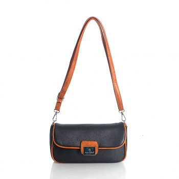 Τσάντα χιαστί BagtoBag– Μαύρο JW-900201