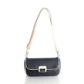 Τσάντα χιαστί BagtoBag– Μαύρο/Μπεζ JW-900220