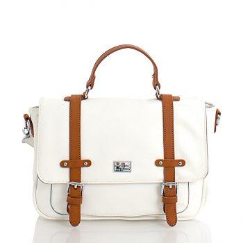 Τσάντα χιαστί ταχυδρόμου– Άσπρο SP2005907