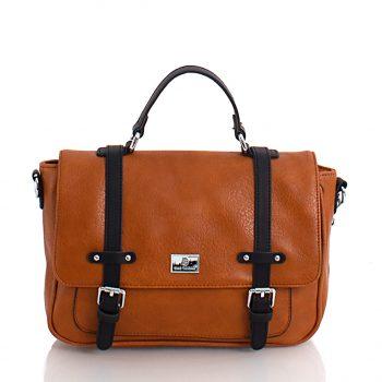 Τσάντα χιαστί ταχυδρόμου– Κάμελ SP2005902