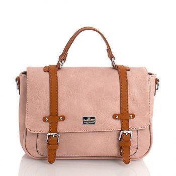 Τσάντα χιαστί ταχυδρόμου– Ροζ SP2005905