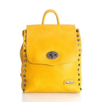 Σακίδιο πλάτης BagtoBag με τρουκς- Κίτρινο 89804