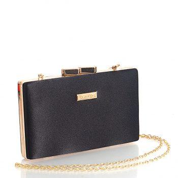 Τσάντα clutch BagtoBag– Μαύρο CK102101