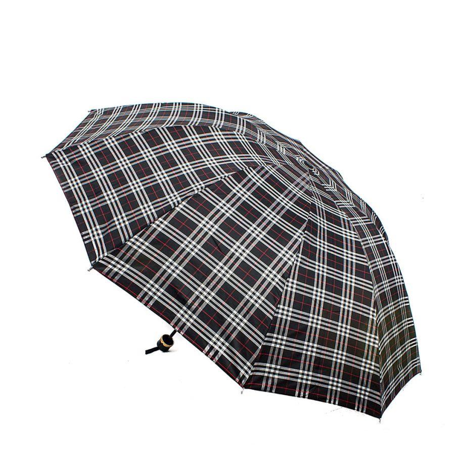 Ομπρέλα καρό - Μπεζ YF-306901