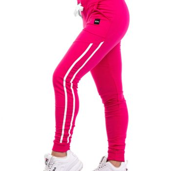 Παντελόνι φούτερ με δίχρωμο ρέλι #1121  1121-4