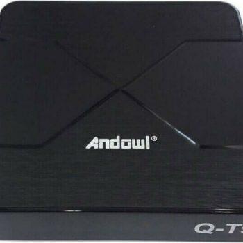 Andowl TV Box Q-T9 4K UHD με WiFi USB 3.0 4GB RAM και 64GB Αποθηκευτικό Χώρο με Λειτουργικό Android 10.0