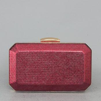 YX-900632 Τσαντάκι clutch gem – Μπορντό