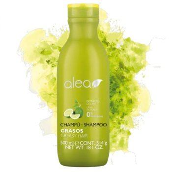 Alea Greasy Hair Shampoo with Lime Extract 500ml