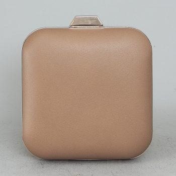 1933111 Τσάντα clutch με αλυσίδα – Χακί Χρώμα: ΧΑΚΙ